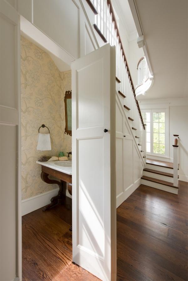 Những thiết kế phòng tắm nhỏ dưới gầm cầu thang nhưng đẹp mê ly ai cũng muốn sở hữu - Nhà Đẹp Số (8)