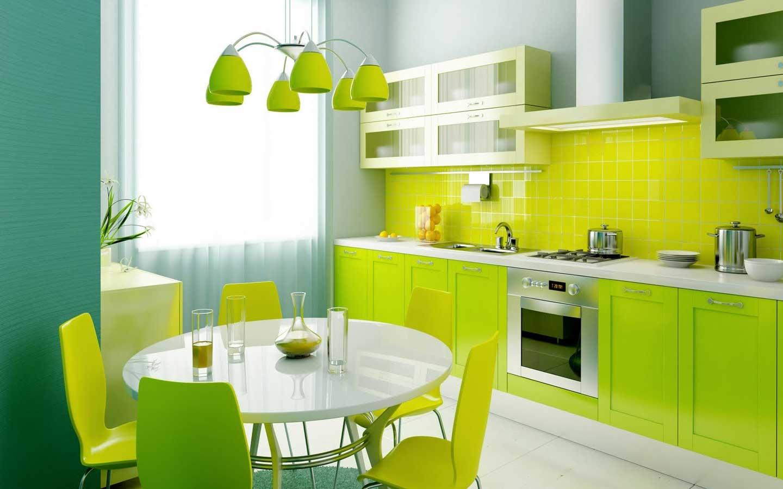 Phong thủy phòng bếp về màu và chất liệu mà bạn nên biết - Nhà Đẹp Số (1)