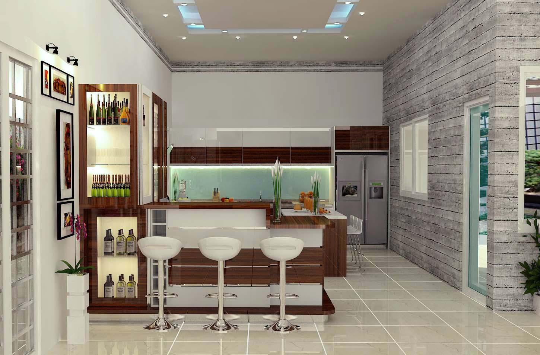 Phong thủy phòng bếp về màu và chất liệu mà bạn nên biết - Nhà Đẹp Số (4)