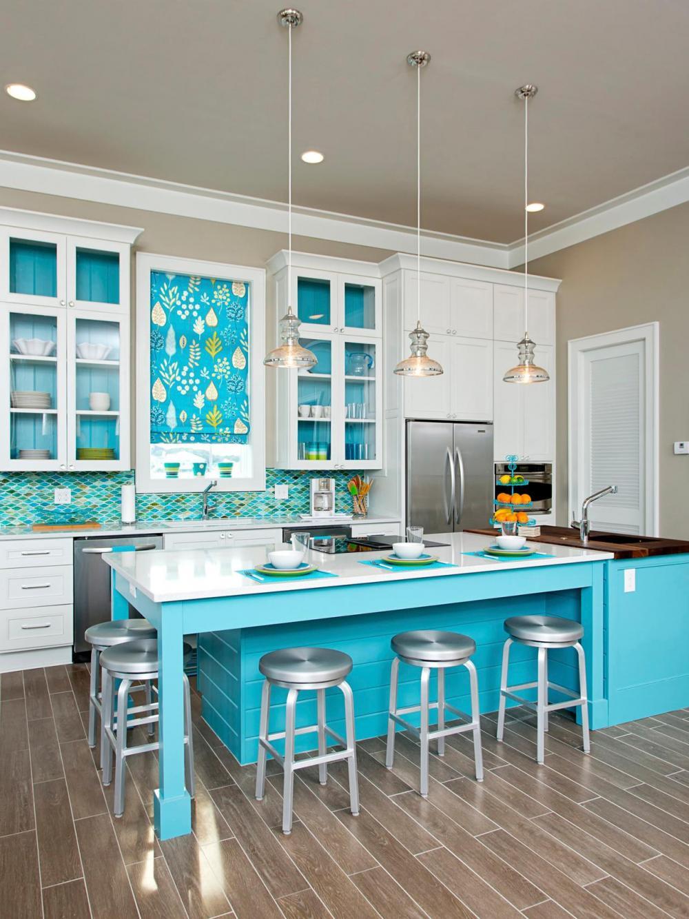 Phong thủy phòng bếp về màu và chất liệu mà bạn nên biết - Nhà Đẹp Số (5)