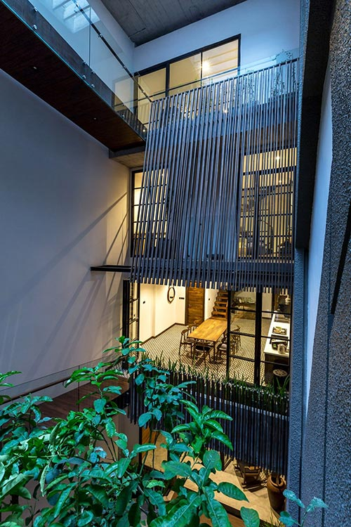 Four-storey townhouse design in Hanoi - where the beauty of old things ascends - The Beautiful House (14)