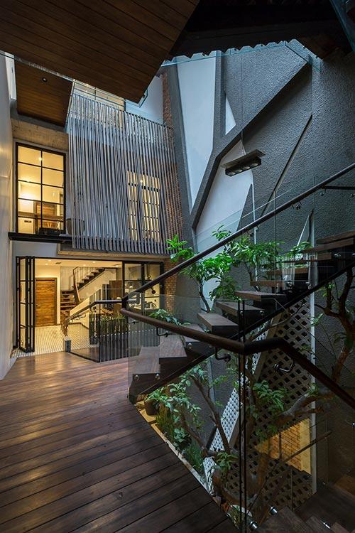 Thiết kế nhà phố 4 tầng ở Hà Nội - nơi nét đẹp của những điều xưa cũ lên ngôi - Nhà Đẹp Số (15)