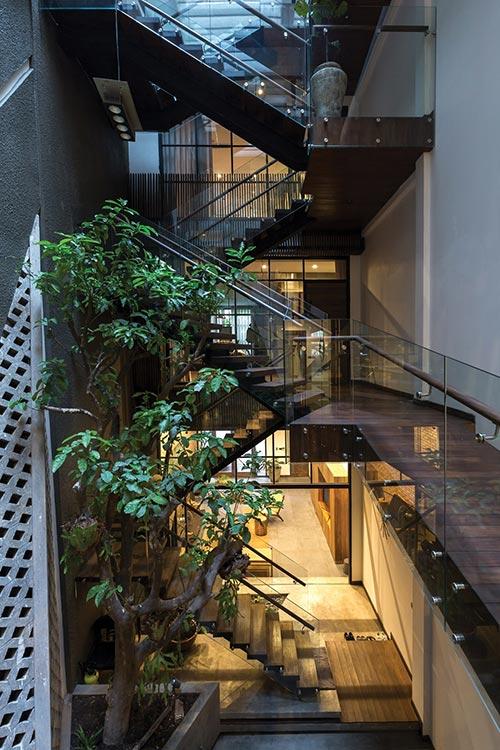 Thiết kế nhà phố 4 tầng ở Hà Nội - nơi nét đẹp của những điều xưa cũ lên ngôi - Nhà Đẹp Số (16)