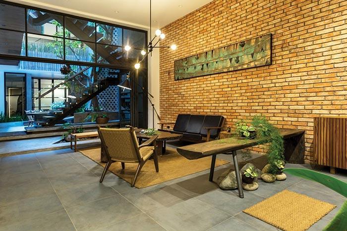 Thiết kế nhà phố 4 tầng ở Hà Nội - nơi nét đẹp của những điều xưa cũ lên ngôi - Nhà Đẹp Số (6)
