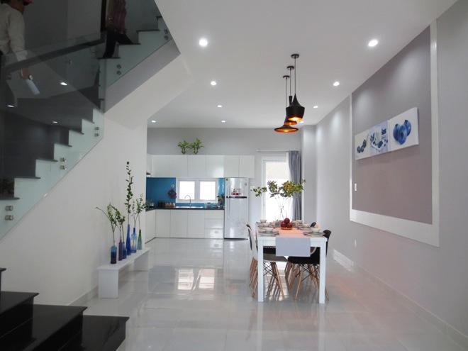 Xây nhà phố đẹp 80 m2 hiện đại hết 1 tỷ đồng ở Sài Gòn - Nhà Đẹp Số (2)