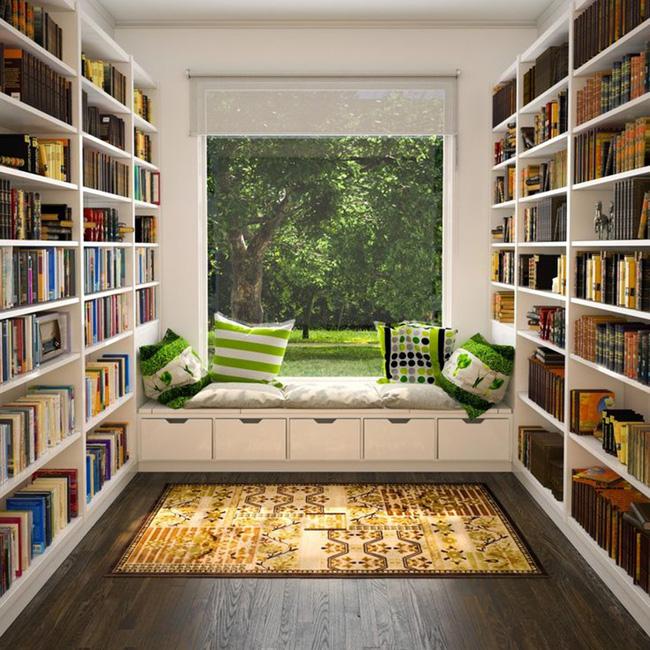 17 góc đọc sách khiến ai cũng mê tít - Nhà Đẹp Số (2)