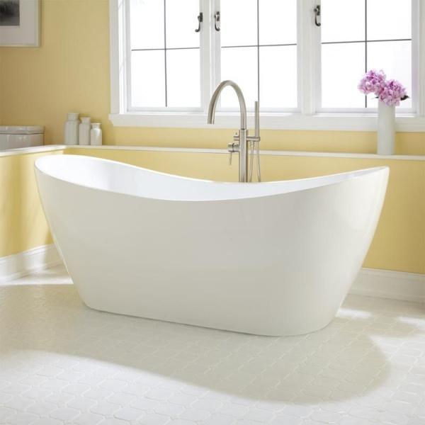 Các ý tưởng trang trí phòng tắm đẹp theo phong cách tối giản - Nhà Đẹp Số (1)