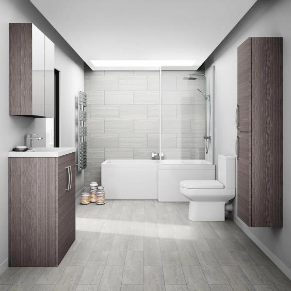 Các ý tưởng trang trí phòng tắm đẹp theo phong cách tối giản - Nhà Đẹp Số (2)