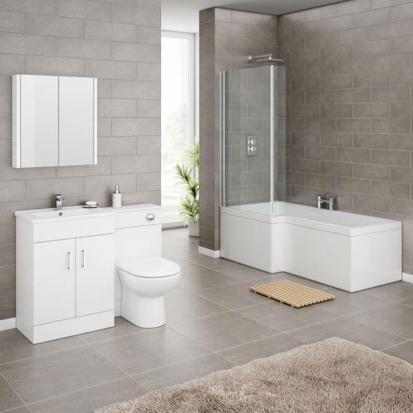 Các ý tưởng trang trí phòng tắm đẹp theo phong cách tối giản - Nhà Đẹp Số (7)