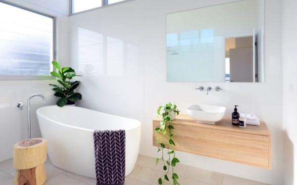 Các ý tưởng trang trí phòng tắm đẹp theo phong cách tối giản - Nhà Đẹp Số (9)