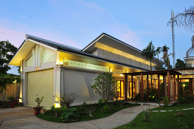 Delightful villa in a 1-storey villa in Tra Vinh - Beautiful House Number (1)