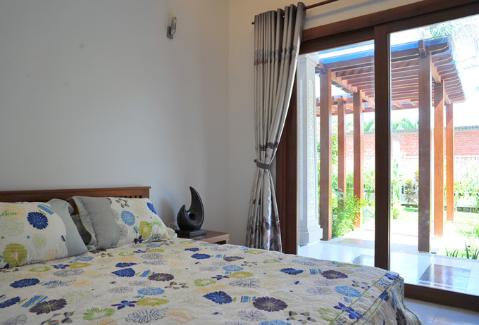 A rich villa in a 1-storey villa in Tra Vinh - Beautiful House (12)