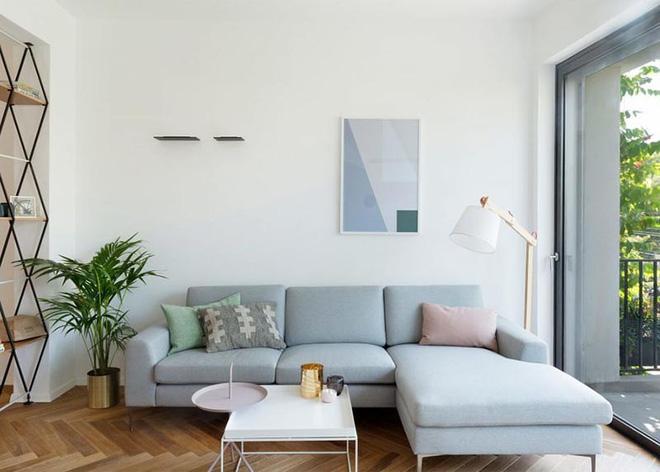 Không gian phòng khách đẹp mĩ mãn với sự hiện diện của gam màu pastel - Nhà Đẹp Số (10)