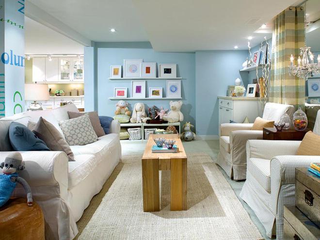 Không gian phòng khách đẹp mĩ mãn với sự hiện diện của gam màu pastel - Nhà Đẹp Số (11)