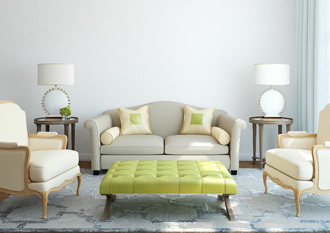Không gian phòng khách đẹp mĩ mãn với sự hiện diện của gam màu pastel - Nhà Đẹp Số (3)