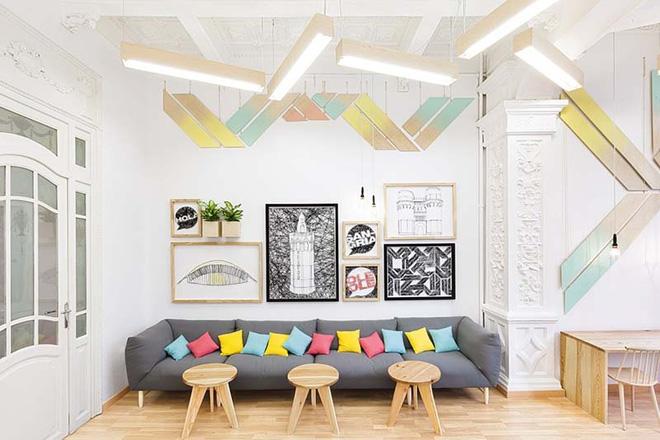Không gian phòng khách đẹp mĩ mãn với sự hiện diện của gam màu pastel - Nhà Đẹp Số (4)