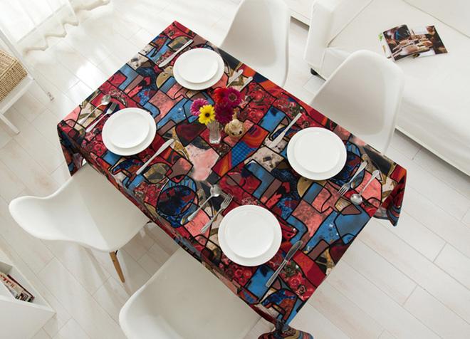 Làm mới bàn ăn gia đình bằng những chiếc khăn trải bàn siêu xinh - Nhà Đẹp Số (14)