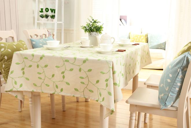 Làm mới bàn ăn gia đình bằng những chiếc khăn trải bàn siêu xinh - Nhà Đẹp Số (15)