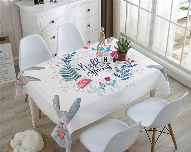 Làm mới bàn ăn gia đình bằng những chiếc khăn trải bàn siêu xinh - Nhà Đẹp Số (17)