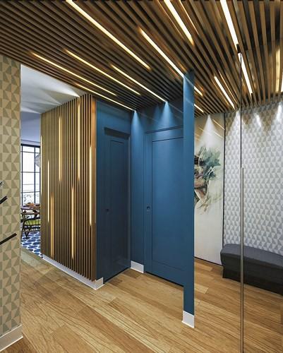 Những cách trang trí trần nhà bằng gỗ ấn tượng - Nhà Đẹp Số (10)