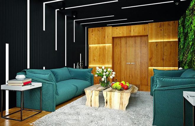 Những cách trang trí trần nhà bằng gỗ ấn tượng - Nhà Đẹp Số (4)