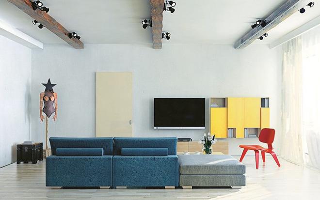 Những cách trang trí trần nhà bằng gỗ ấn tượng - Nhà Đẹp Số (5)