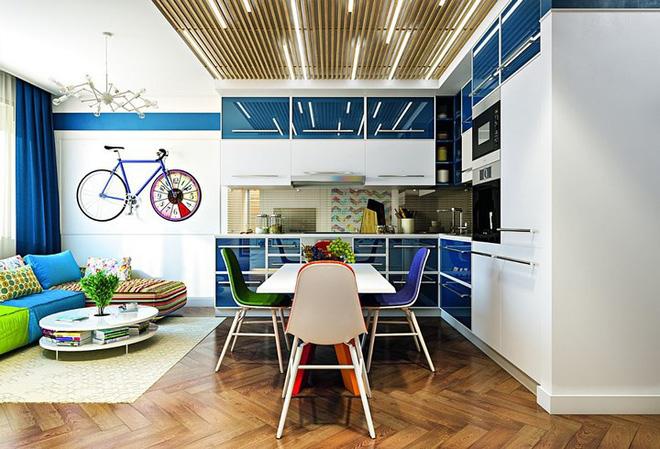 Những cách trang trí trần nhà bằng gỗ ấn tượng - Nhà Đẹp Số (7)