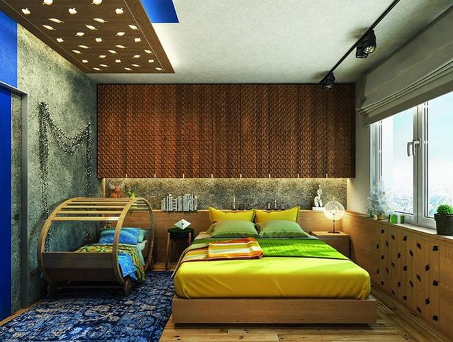 Những cách trang trí trần nhà bằng gỗ ấn tượng - Nhà Đẹp Số (8)