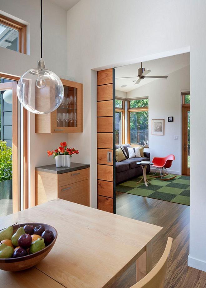 Những thiết kế cửa kéo giúp tiết kiệm diện tích cho không gian nhà chật - Nhà Đẹp Số (8)