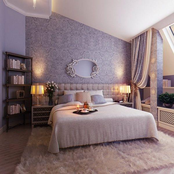 Trang trí phòng ngủ lãng mạn với gam tím mộng mơ - Nhà Đẹp Số (1)