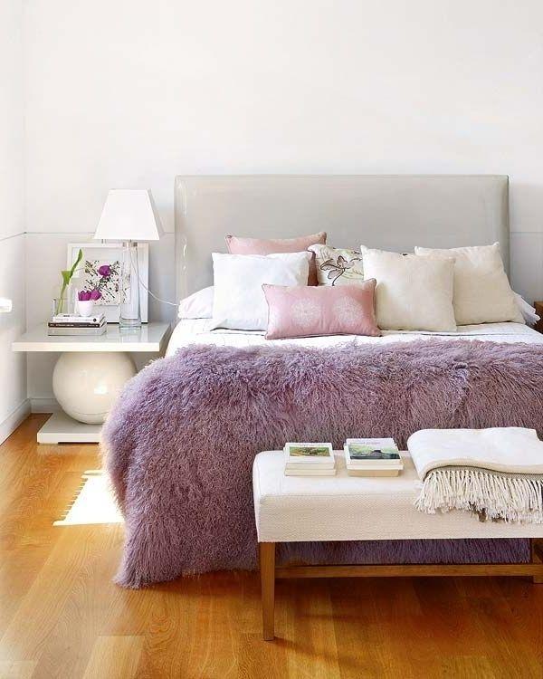 Trang trí phòng ngủ lãng mạn với gam tím mộng mơ - Nhà Đẹp Số (3)