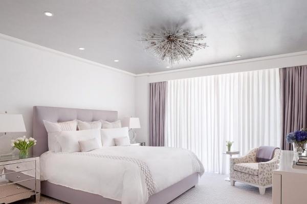 Trang trí phòng ngủ lãng mạn với gam tím mộng mơ - Nhà Đẹp Số (6)
