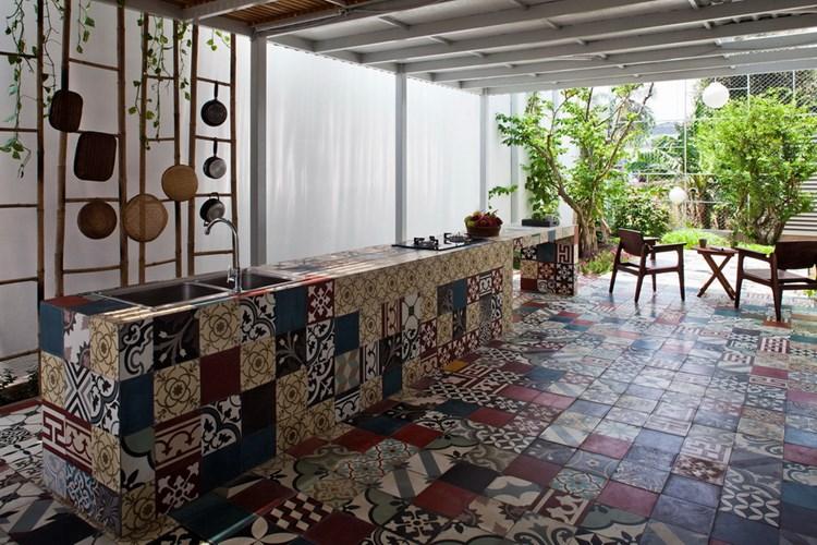 Xu hướng trang trí nhà đẹp với gạch bông - Nhà Đẹp Số (6)