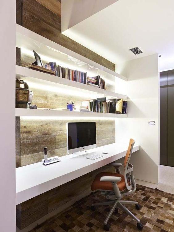 Ý tưởng thiết kế bàn làm việc dù diện tích chỉ vài m2 - Nhà Đẹp Số (1)