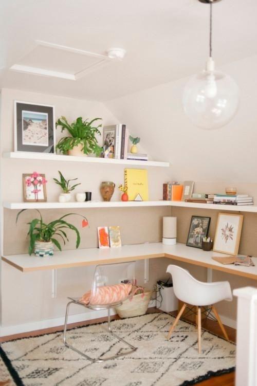 Ý tưởng thiết kế bàn làm việc dù diện tích chỉ vài m2 - Nhà Đẹp Số (10)