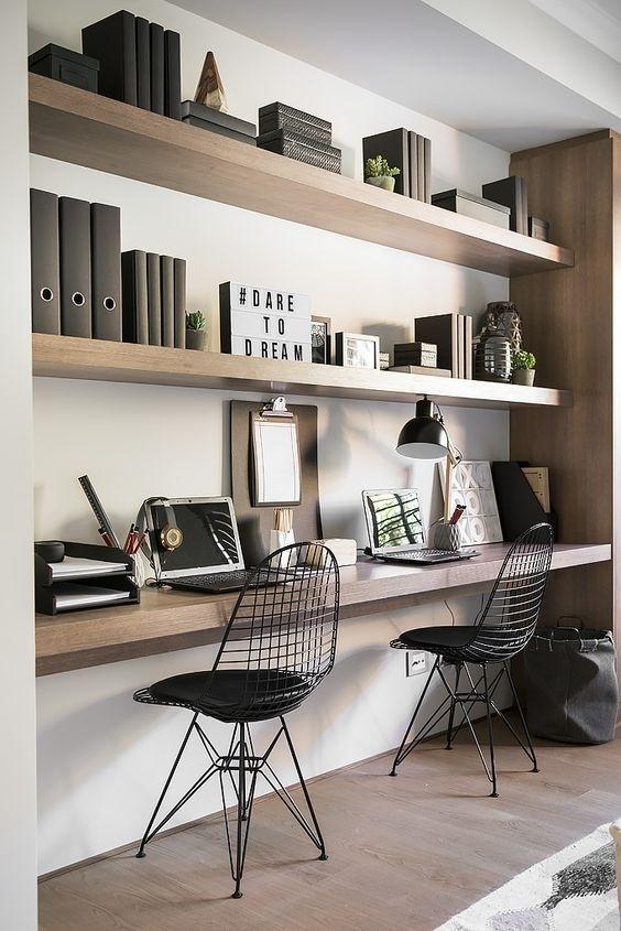 Ý tưởng thiết kế bàn làm việc dù diện tích chỉ vài m2 - Nhà Đẹp Số (2)