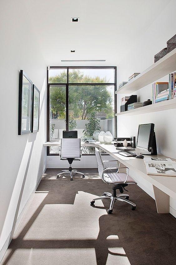Ý tưởng thiết kế bàn làm việc dù diện tích chỉ vài m2 - Nhà Đẹp Số (3)