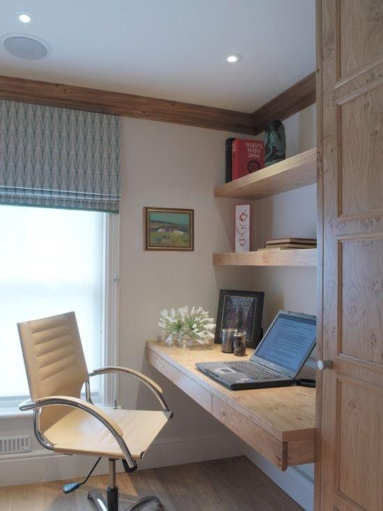Ý tưởng thiết kế bàn làm việc dù diện tích chỉ vài m2 - Nhà Đẹp Số (4)