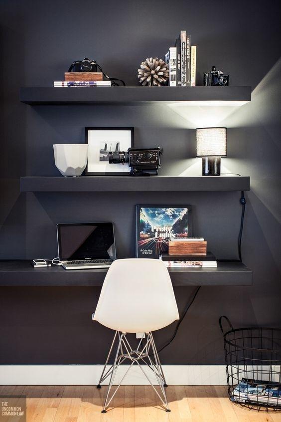 Ý tưởng thiết kế bàn làm việc dù diện tích chỉ vài m2 - Nhà Đẹp Số (6)