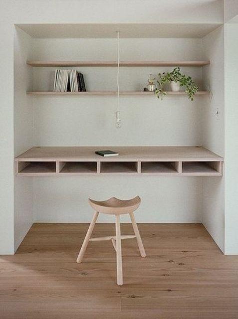 Ý tưởng thiết kế bàn làm việc dù diện tích chỉ vài m2 - Nhà Đẹp Số (7)
