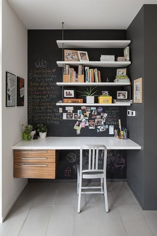 Ý tưởng thiết kế bàn làm việc dù diện tích chỉ vài m2 - Nhà Đẹp Số (8)