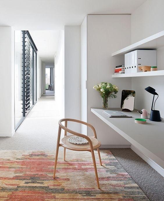 Ý tưởng thiết kế bàn làm việc dù diện tích chỉ vài m2 - Nhà Đẹp Số (9)