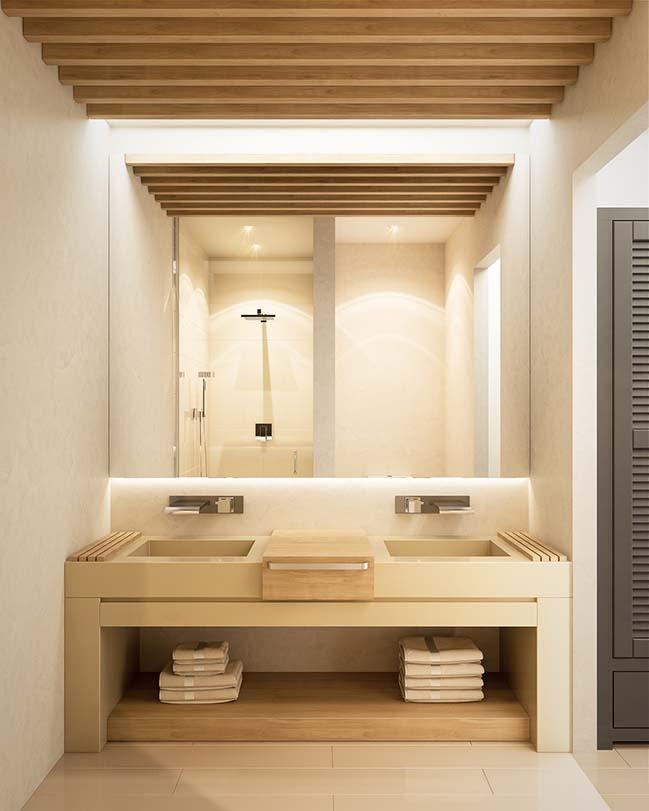10 mẫu phòng tắm phong cách hiện đại khiến ai cũng ngẩn ngơ khi bước vào - Nhà Đẹp Số (3)