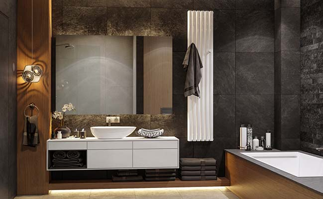 10 mẫu phòng tắm phong cách hiện đại khiến ai cũng ngẩn ngơ khi bước vào - Nhà Đẹp Số (4)