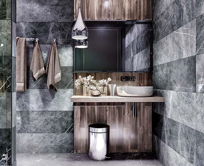 10 mẫu phòng tắm phong cách hiện đại khiến ai cũng ngẩn ngơ khi bước vào - Nhà Đẹp Số (5)