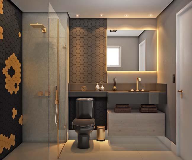 10 mẫu phòng tắm phong cách hiện đại khiến ai cũng ngẩn ngơ khi bước vào - Nhà Đẹp Số (6)