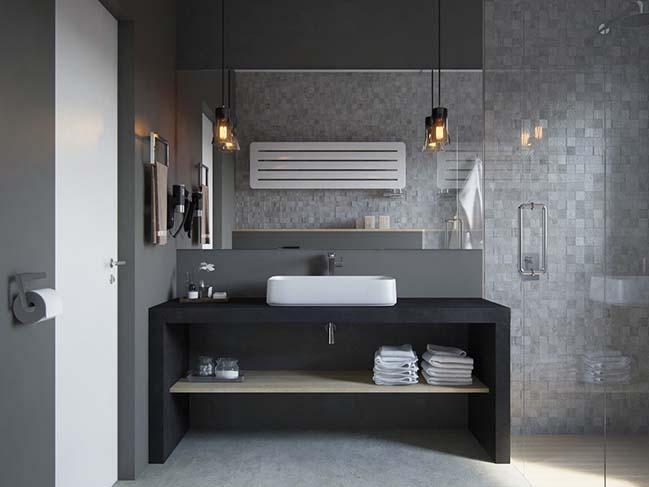 10 mẫu phòng tắm phong cách hiện đại khiến ai cũng ngẩn ngơ khi bước vào - Nhà Đẹp Số (8)