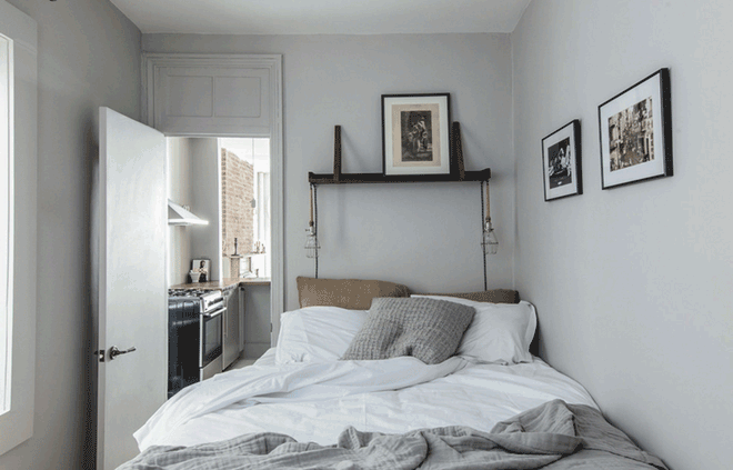 10 tuyệt chiêu giúp không gian phòng ngủ nhỏ trở nên rộng rãi bất ngờ - Nhà Đẹp Số (2)