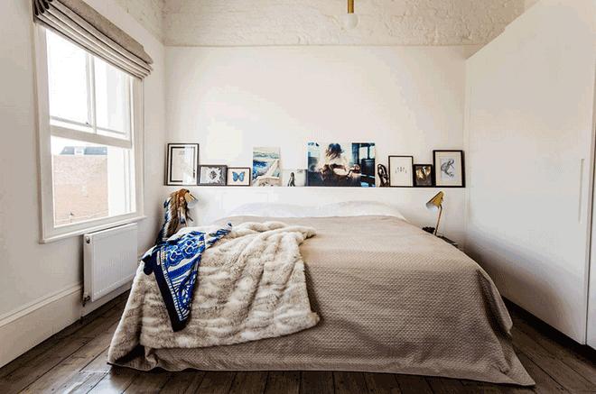 10 tuyệt chiêu giúp không gian phòng ngủ nhỏ trở nên rộng rãi bất ngờ - Nhà Đẹp Số (9)