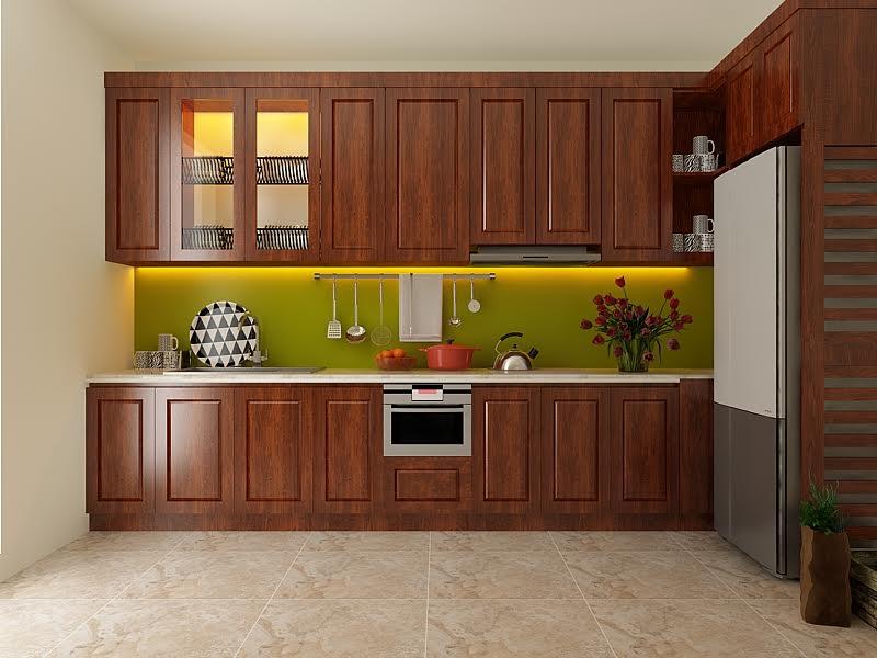 5 chất liệu tủ bếp phổ biến - Nhà Đẹp Số (5)